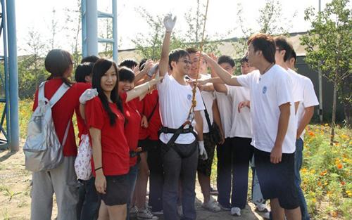拓展训练有感 2011级5班 田青