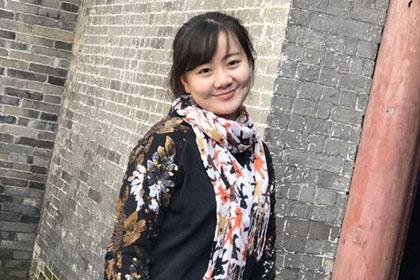 俞琳娜2015级新闻班优秀学生毕业感言