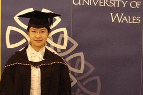 蔡昭欣 威尔士大学
