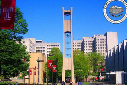 14.天普大学Temple University